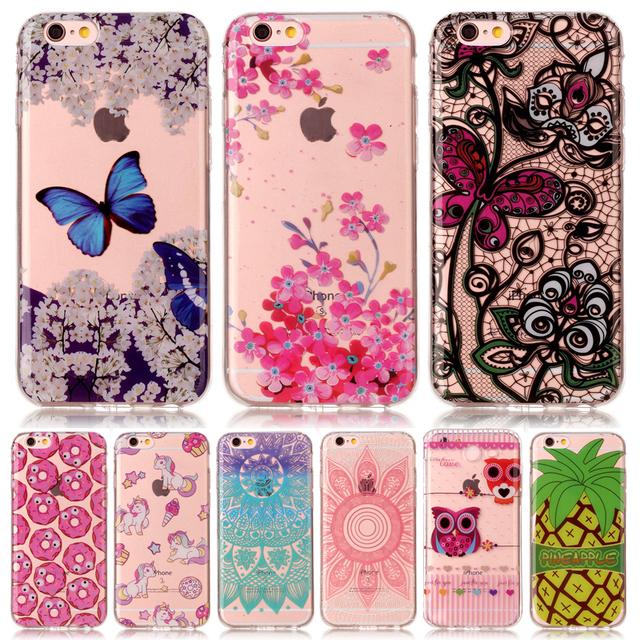coque iphone 6 silicone motif