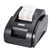 Original ZJ 5890K 58mm POS Thermal Receipt Bill Printer Universal Ticket Printer Support cash drawer driver low noise USB port .