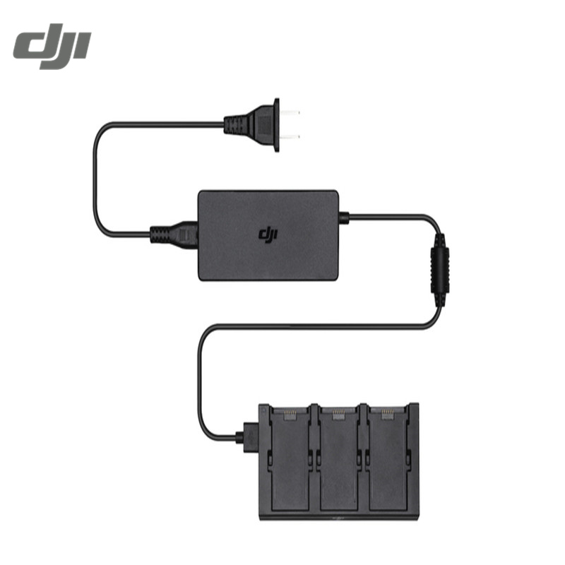 DJI Spark Camera Drone FPV Racing Battery Charging Hub Intelligent Flight Battery Charger With Power Cable Supporr 3pcs original dji spark battery charging hub intelligent flight battery charger for dji spark