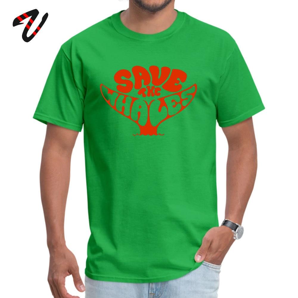 StreetCamisa Short Sleeve Tops Shirts Summer/Fall Hot Sale Round Neck All Cotton Tops Shirt Men T Shirts Save the Whales Save the Whales20453 green