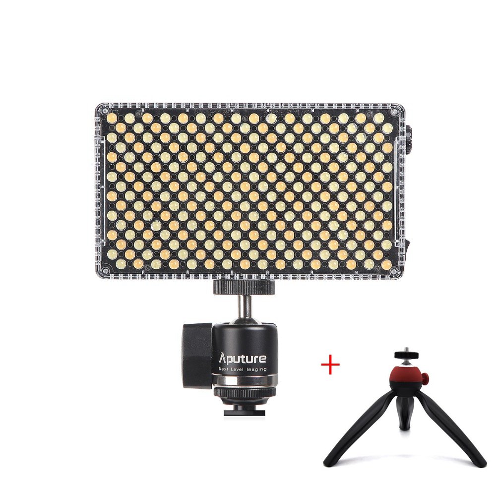 Aputure Amaran AL-F7 LED Video Fill Light Panel Adjustable 3200K-9500K Color Temperature CRI TLCI 95+ for DSLR Camera Camcorder стоимость