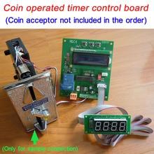 Монетный таймер управления(может connnect как импульсный монетоприемник, так и купюроприемник