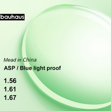 Aspheric Anti Blue Light Prescription Glasses Lenses Radiati