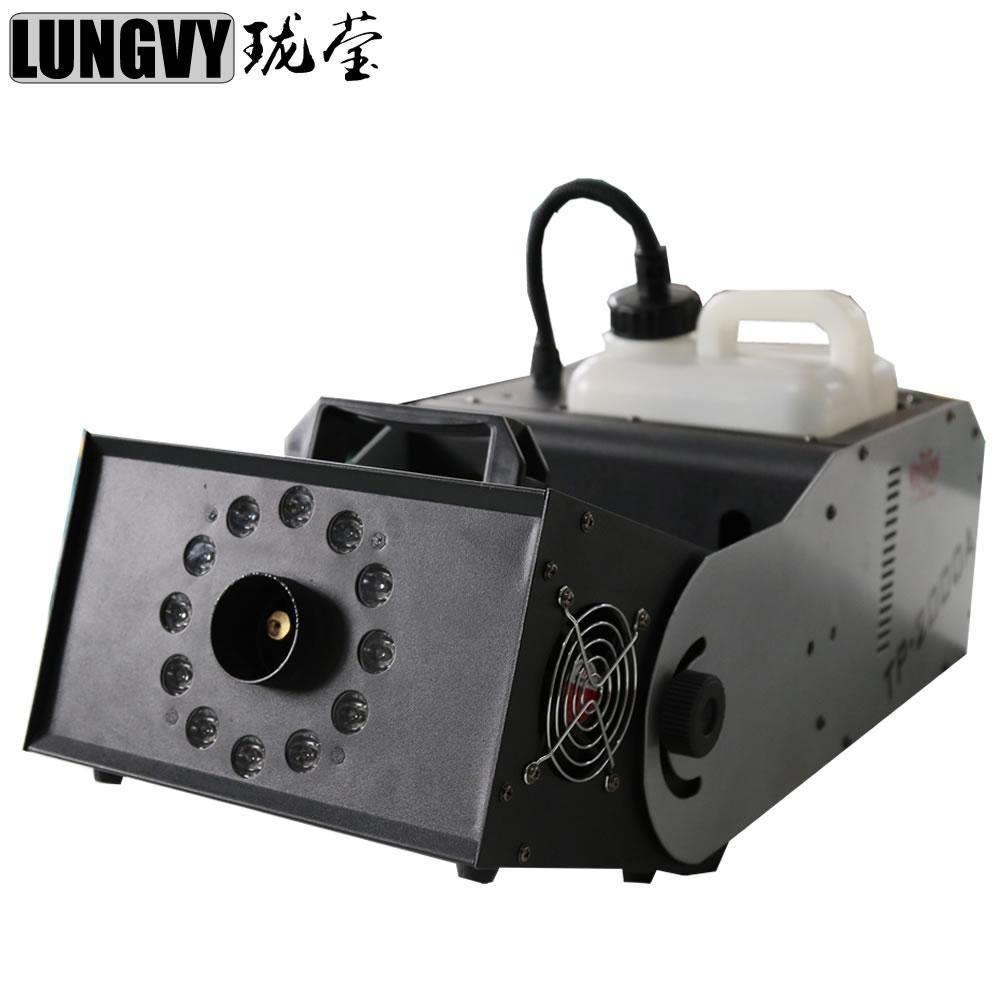 Free Shipping 180 Degree Adjusting 2000w RGB 3In1 Smoke Machine/Fog Machine For Stage Show Party Wedding Dj Equipment