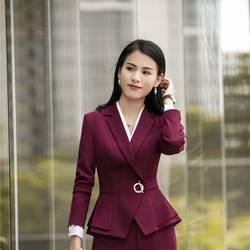 Модные Коктейльное платье Стили пиджаки для женщин и куртки пальто бизнес для 2018 Осень Зима Верхняя одежда ПР Блейзер