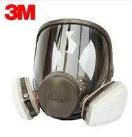 3M 6700 + 6005 Полнолицевая маска многоразовые респиратор фильтр NIOSH & LA защиты Маски Anti-формальдегида органических паров R82401