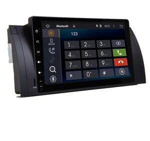 Image 3 - Radio Multimedia con GPS para coche, Radio con Android 10,0, 2 gb ROM, navegador Navi, 9 pulgadas, completamente táctil, DVD, Wifi, 3G, BT, RDS, Can bus, DVR, para BMW E53, X5, E39, 5, 97 06