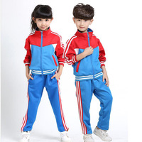 Blue Adult Children S Primary School Uniforms Teenage Kids Autumn Long Sleeve Outdoor Clothing Sports Boys