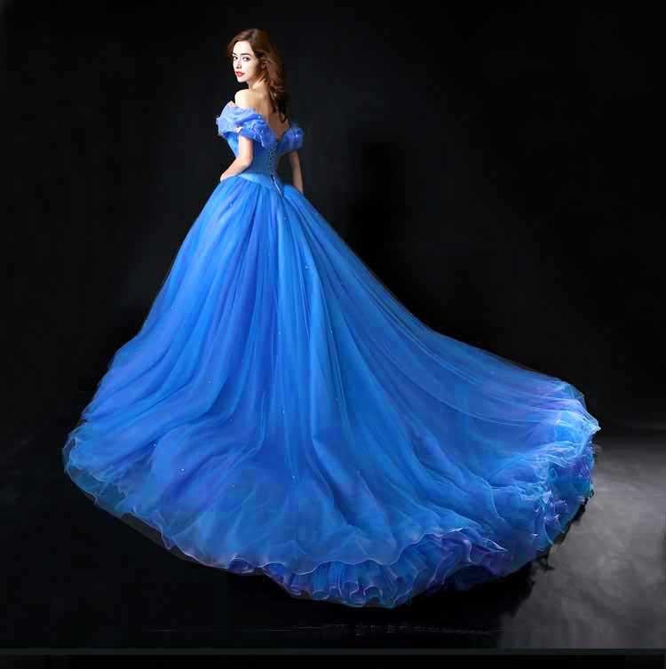 Cinderella vestidos de noche 2014