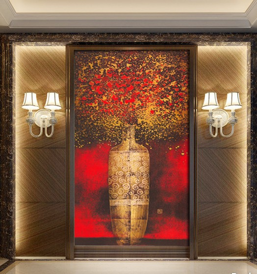 Buy continental abstract entrancechinese for Abstract mural painting