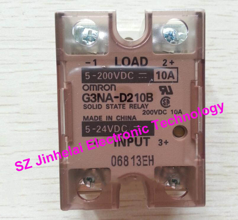 100%New and original OMRON G3NA D210B OMRON DC Solid state relay DC5 24V