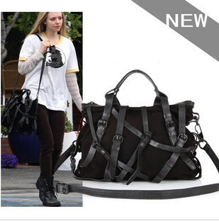 2014 New Fashion Personality Kristen Bandage Buckle Fall Winter Women's Shoulder Bags