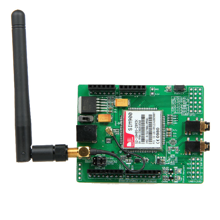 SIM900 GSM Module Quad Band Wireless GPRS Shield Development Board for Arduino Free Shipping free shipping hot sales rotary encoder module brick sensor development board for arduino