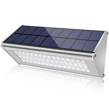 48LED al aire libre luces solares PIR Sensor de movimiento impermeable jardín lámpara de noche