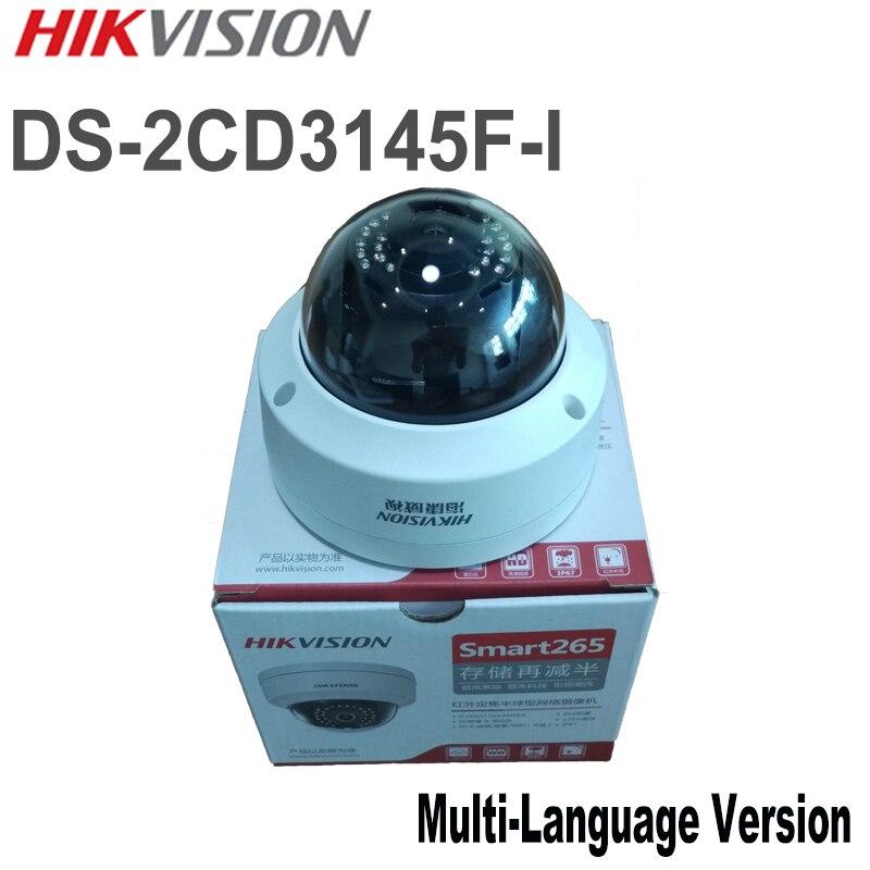 imágenes para En stock HIK DS-2CD3145F-I $ NUMBER MP Cámara Domo POE SD IP CCTV cámara