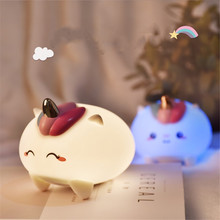 Sleeping Small Touch Sensor LED Night Light Table Lamp Baby Kids Room Decor Birthday Gift