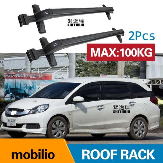 Car Luggage Rack Crossbar Roof Rack For Honda Mobilio 4 Door