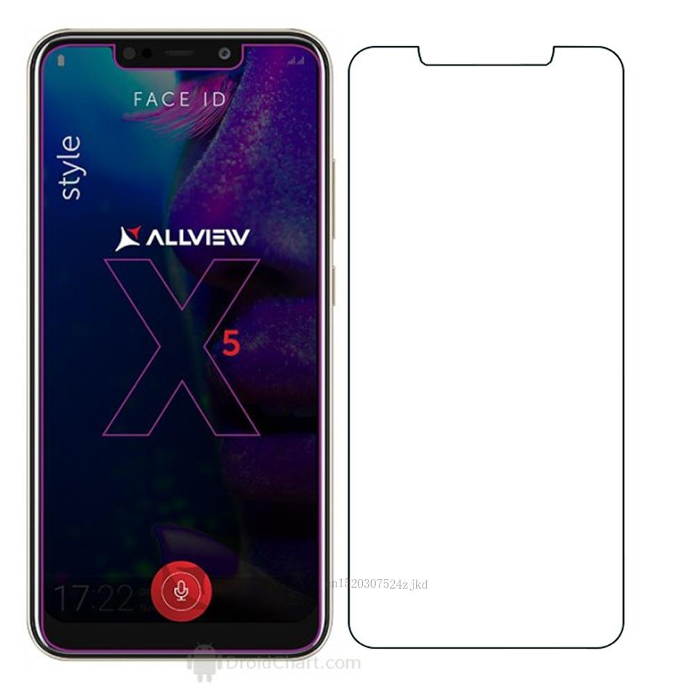 For Allview Soul X5 Style Tempered Glass 9H 2.5D Premium Screen Protector Film For Allview Soul X5 Pro