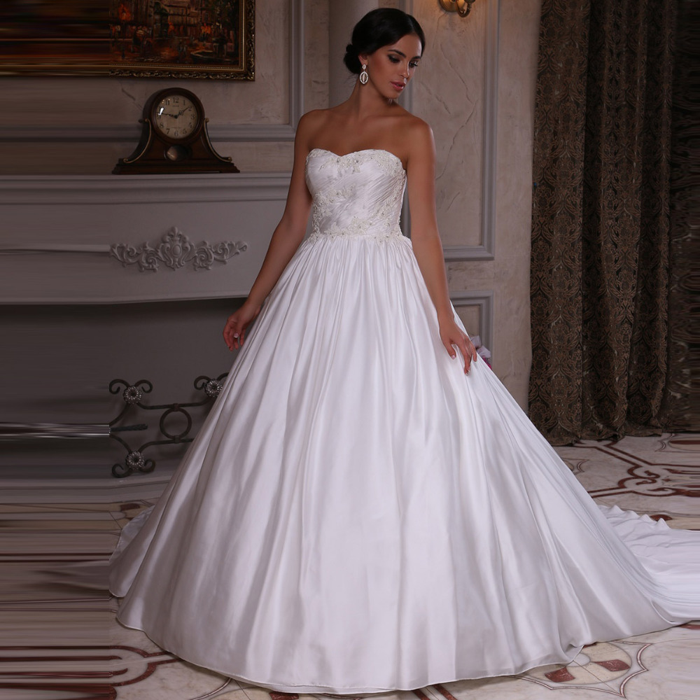 Wedding Gown Tops: Gorgeous China Wedding Dress Pleats Top Vestido De Novia