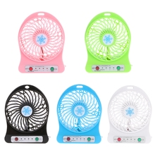 HOT SALE Portable LED Light Fan Air Cooler Mini Desk USB Third Wind