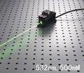 CW 500 МВт 532nm зеленый лазерный диод модуль + OEM питания + TTL/Аналоговый/+ TEC