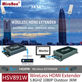 HSV891W 5.8GHZ 1080P Supper Wireless HDMI Transmitter Receiver Extender Support Outdoor 3KM Transmission HDMI Wireless Extender