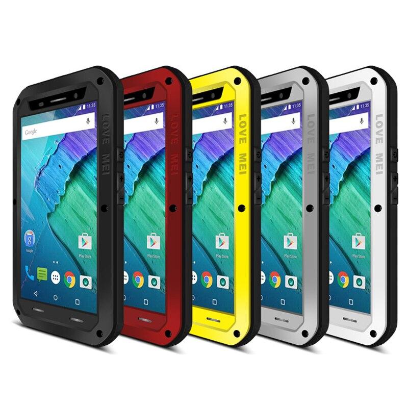 Love Mei Armor Cover Waterproof Case for Motorola Nexus 6 ...
