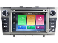 FOR TOYOTA AVENSIS 2008-2013 Android 8.0 Car DVD player Octa-Core(8Core) 4G RAM 1080P 32GB ROM WIFI gps head device unit stereo