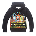 Retail 2017 New kids Five Nights at Freddy's printed cartoon hoodies baby boys girls cotton sweatshirts children fashion hoodies