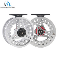 Maximumcatch Fly Fishing Reel 5 6 7 8 WT Large Arbor Die Casting Aluminum Fly Reel