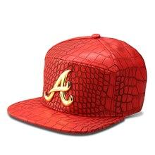 4d6c46d0319 NYUK New Fashion Alumni Snapback Hat Gold A Letter Baseball Caps B-Boy Hip  Hop