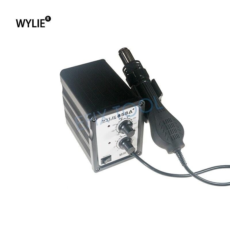 цена на WL-850A++ Lead Screw Type Hot Air Gun Rework Desoldering Station Temperature Adjustable Heat Gun