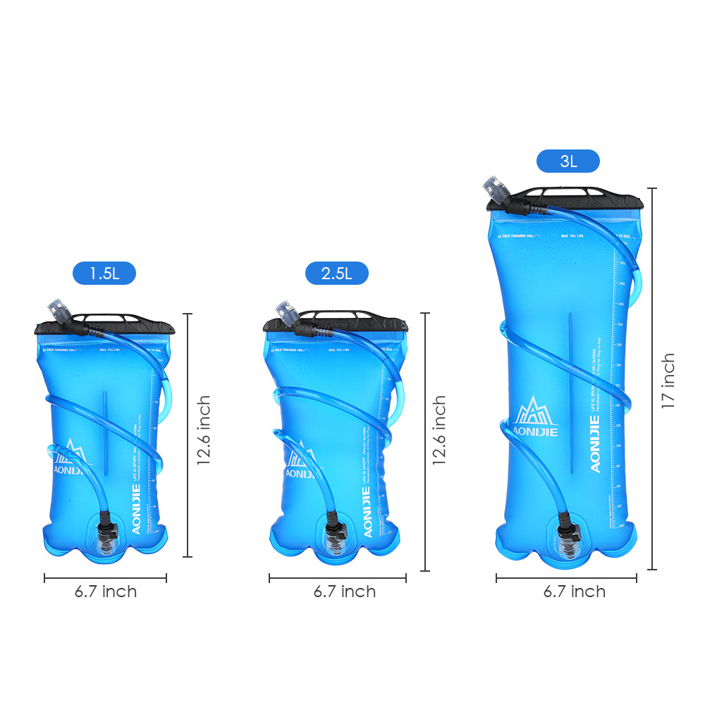 Lowered Aonijie 15l 2l 3l Running Foldable Tpu Water Bag Outdoor Sports Hat Diving Fabric Rose Sport Cycling Hydration