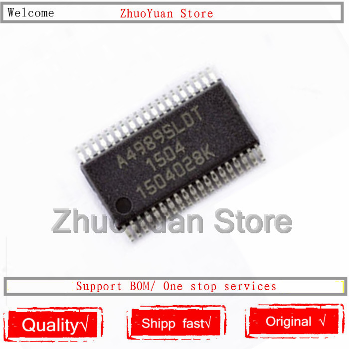 10PCS/Lot A4989SLDTR-T A4989SLDTR A4989SLDT A4989 IC TSSOP38 IC Chip New Original In Stock