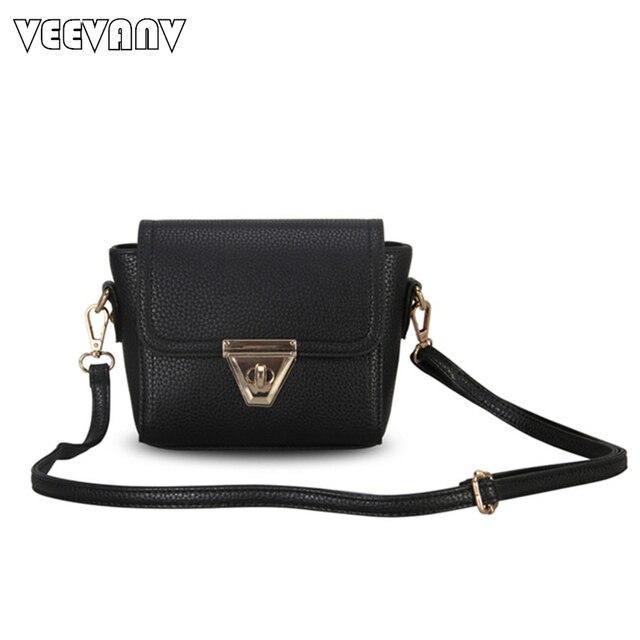 f025e3a5c9e8 Новинка 2019 Модные женские черные маленькие сумочки мини-сумки через плечо  женские сумки-мессенджеры