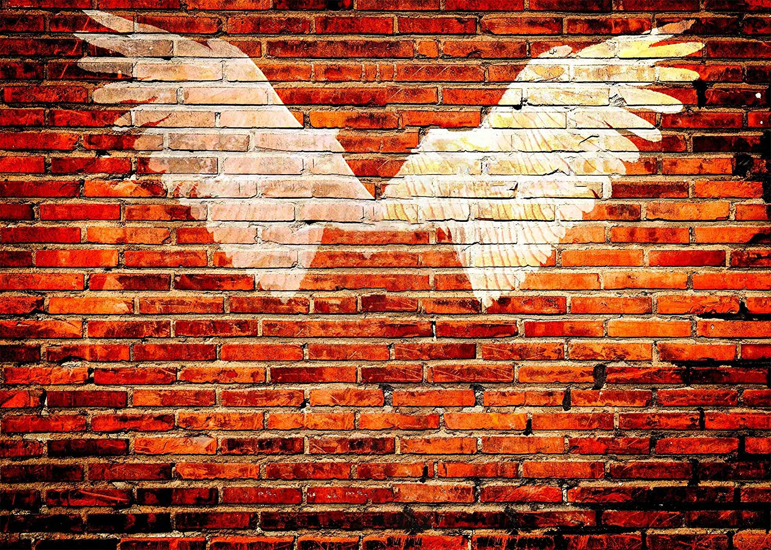 150x220cm Red Brick Wall Backdrop Opening Wings Photography Background Studio Props in Photo Studio Accessories from Consumer Electronics