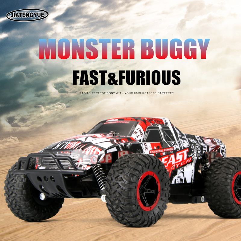 2.4GHz Remote Control Vehicles RC Cars Bigfoot Monsters Rock Climbing Truck High Speed Off-Road Remote Control Car Toys
