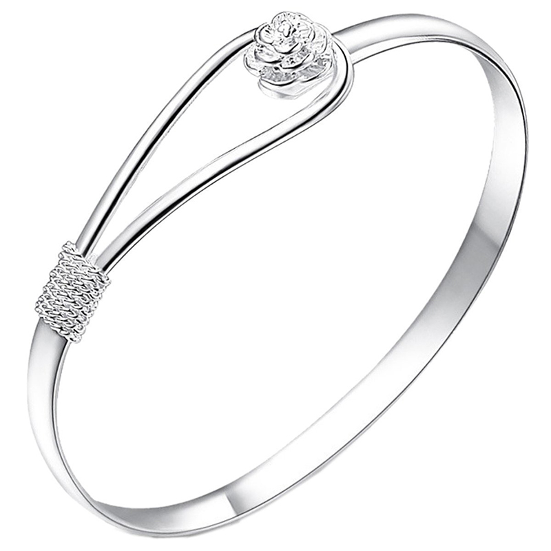 Attractive Simple Rose Cuff...