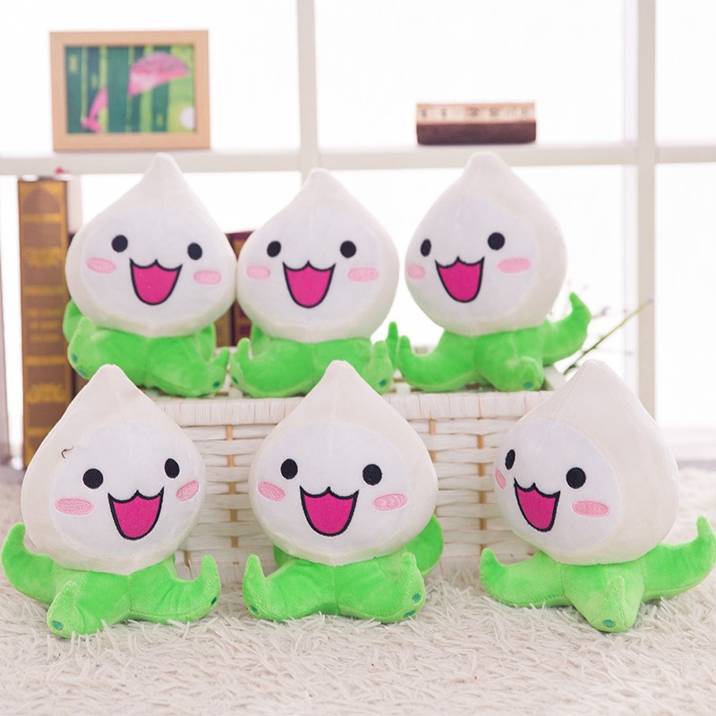 Hot sale 20cm Overwatches Plush Toys Onion Small Squid Stuffed Plush Doll Action Figure Soft Kids Toy 2