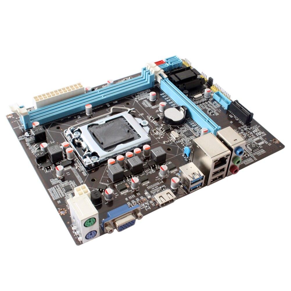 B75 grande mémoire professionnelle double canal forte Performance carte mère de bureau Support Ddr3 accessoires informatiques LGA1155