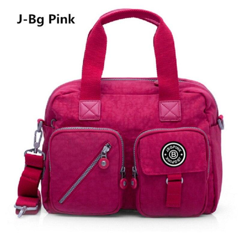 2018 new 100% waterproof nylon lady messenger bag handbag famous brand fashion shoulder diagonal package