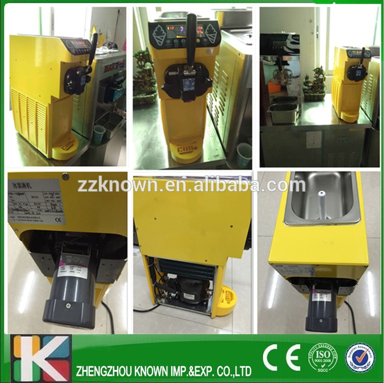 (ship by dhl) soft ice cream machine for sale