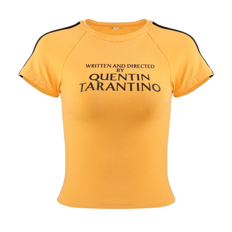 Blusinha amarela Quentin Tarantino Kill Bill