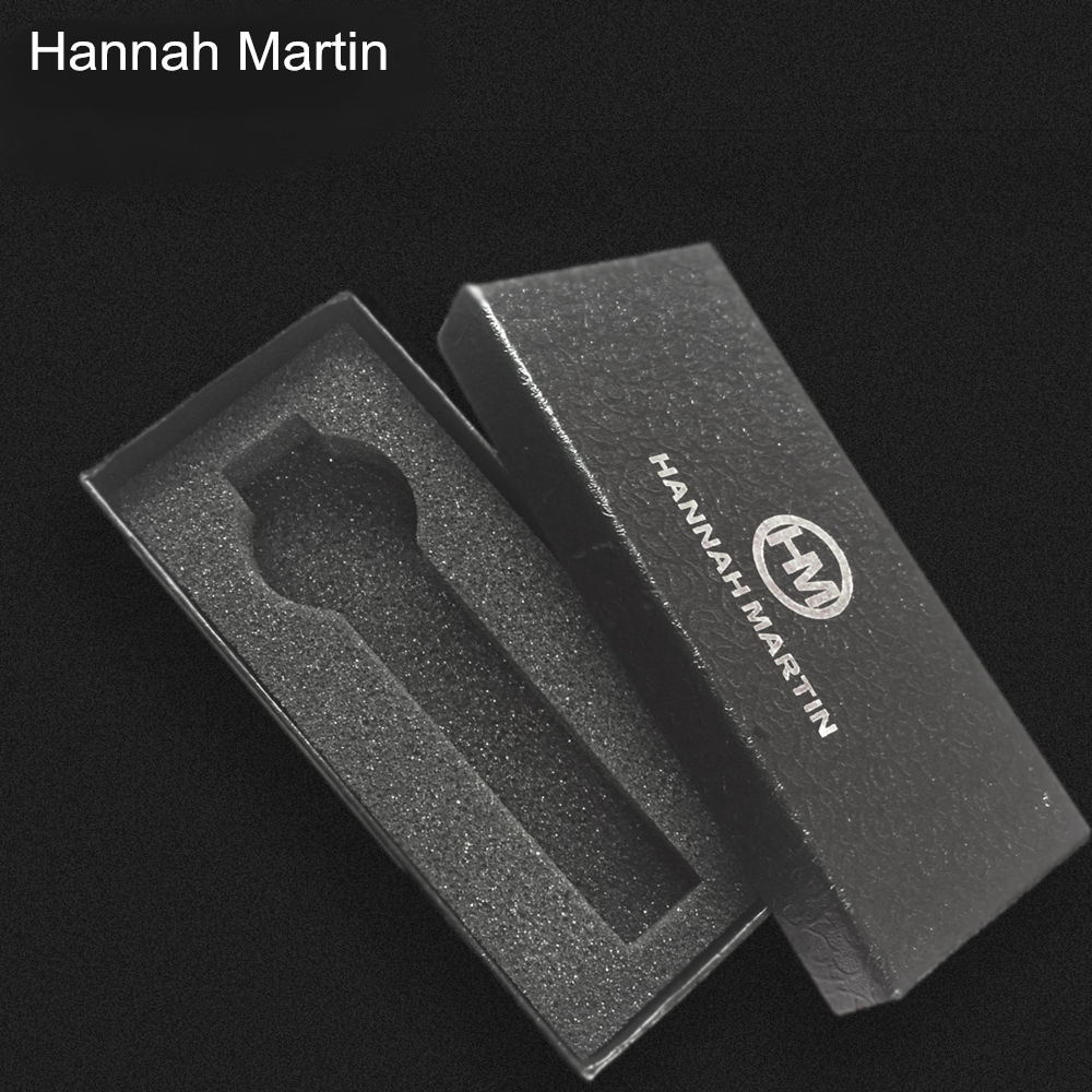 Fashion Black rectangle Hannah Martin Watches Gift Box, Hard Card Material It will be sent with watches. not be sold separately