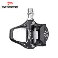 PROMEND מקצועי דוושת MTB אופני כביש רכיבה על אופניים סגסוגת אלומיניום אופניים אופני צלחת דוושת דוושת נעילה עצמי Ultralight עם מנעול