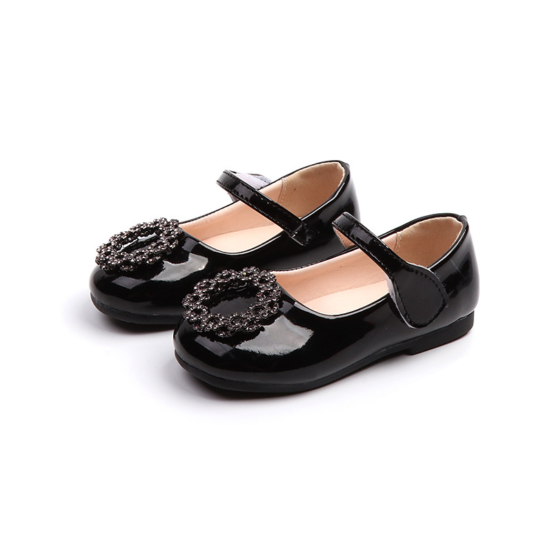Mumoresip Girls Leather Shoes Soft Fashion New Spring Autumn Kids Flats Mary Janes Princess Sweet Shoes Round Metal Buckle 21-30Mumoresip Girls Leather Shoes Soft Fashion New Spring Autumn Kids Flats Mary Janes Princess Sweet Shoes Round Metal Buckle 21-30