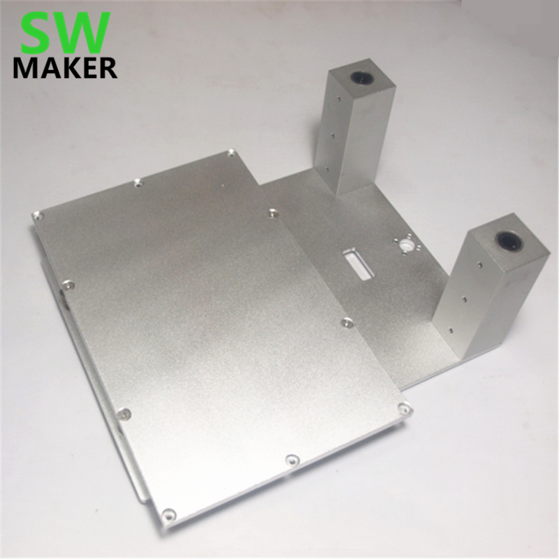 SWMAKER replicator 3dp aluminum upgrade parts CTC Flashforge Replicator Z atage printing bed kit Z aixs