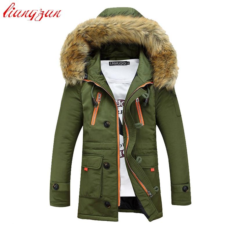 Hombres, chaqueta y abrigos con capucha de invierno, nieve cálida - Ropa de hombre - foto 3