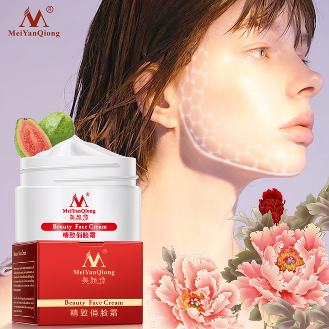 Slimming Face Lifting and Firming Massage Cream Anti-Aging Whitening Moisturizing Beauty Skin Care Facial Cream Anti-Wrinkle Beauty Essentials