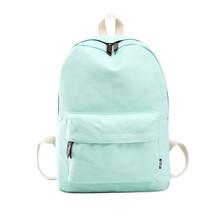 New backpack women mochila feminina Canvas School Bag Girl Travel Rucksack Shoulder Bag laptop backpack sac a dos femme #Zer
